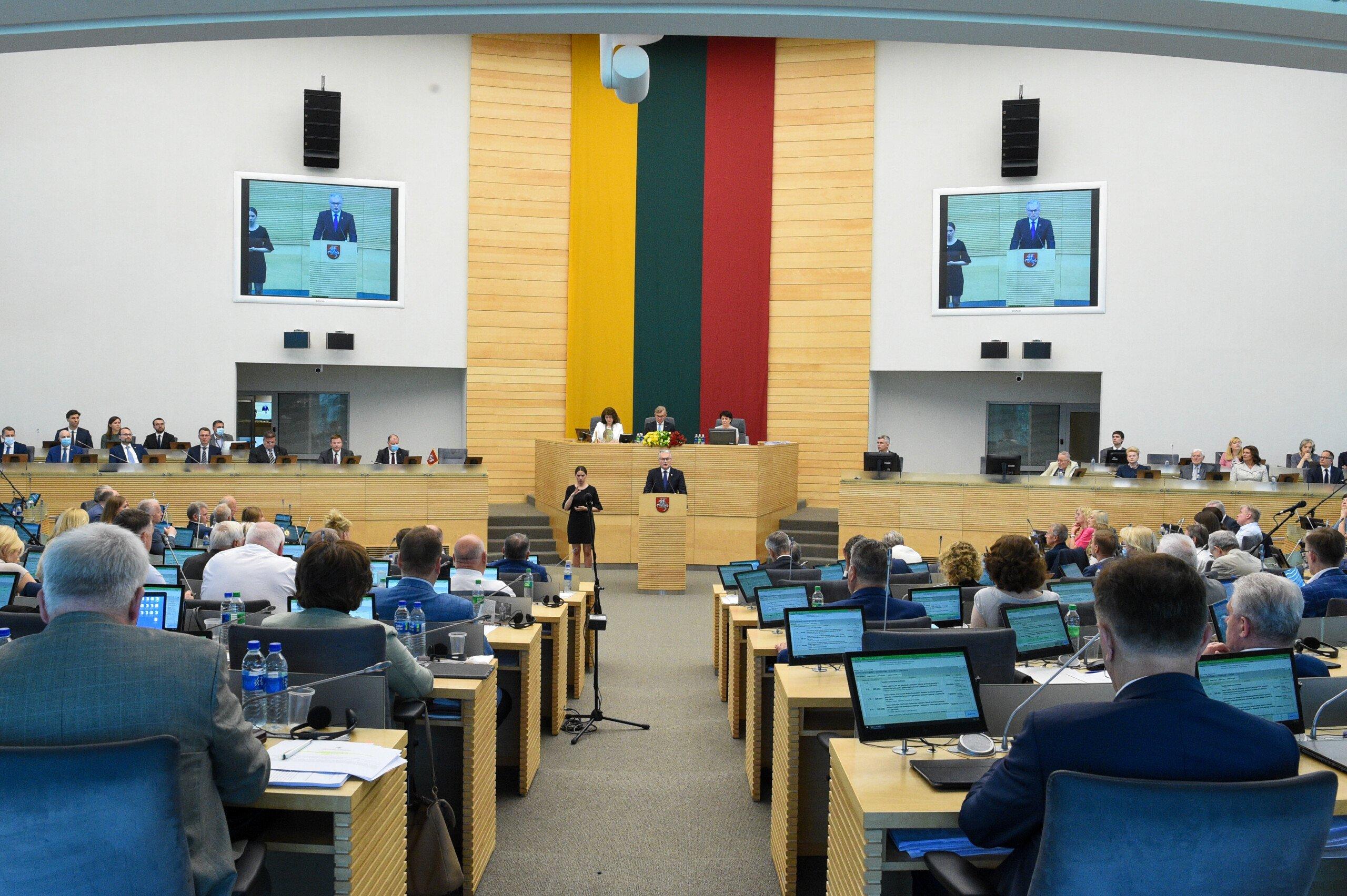 """Pirmas LR Prezidento Nausėdos Pranešimas: """"Mes vis dar mokomės gyventi kaip Viena Lietuva"""""""